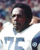 Deacon Jones LIMITED STOCK w/ Hologram LA Rams 8X10 Photo