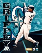 Ken Griffey Jr.  Small Corner Crease SUPER SALE Seattle Mariners 8x10 Photo