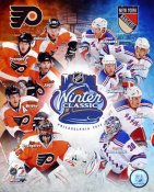 Flyers 2012 Winter Classic vs New York Rangers 8x10 Photo