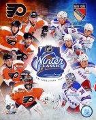 Flyers 2012 Winter Classic vs New York Rangers 8x10 Photo