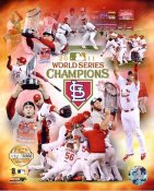 Cardinals 2011 St. Louis World Series Champions Numbered Limited Edition 8X10 Photo