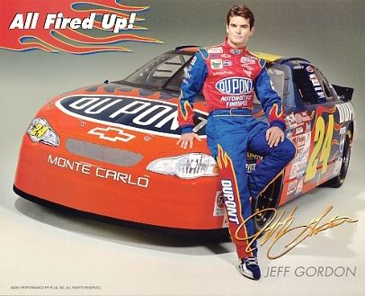 Jeff Gordon Racing LIMITED STOCK 8x10 Photo