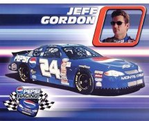 Jeff Gordon Racing LIMITED STOCK 8x10 Photo