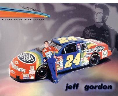 Jeff Gordon Racing SUPER SALE 8x10 Photo