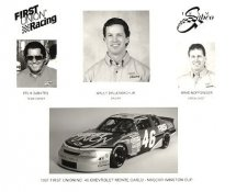 Wally Dallenbach, Felix Sabates & Brad Noffsinger First Union Racing LIMITED STOCK 8x10 Photo