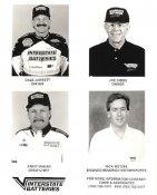 Dale Jarrett, Joe Gibbs, Jimmy Makar & Rick Wetzel Interstate Batteries Racing LIMITED STOCK 8x10 Photo