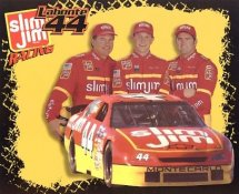 Bobby Labonte, Terry Labonte & Justin Labonte LIMITED STOCK 8x10 Photo