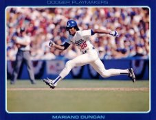 Mariano Duncan Stats On Back Unocal Poster Stock Includes Free Top Loader SUPER SALE LA Dodgers 8 1/2X11 Photo