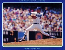 Jerry Reuss Stats On Back Unocal Poster Stock Includes Free Top Loader SUPER SALE LA Dodgers 8 1/2X11 Photo