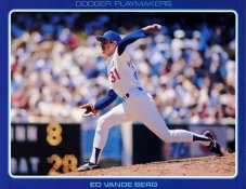 Ed Vande Berg Stats On Back Unocal Poster Stock Includes Free Top Loader SUPER SALE LA Dodgers 8 1/2X11 Photo