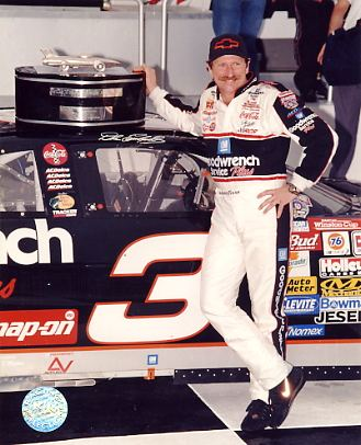 Dale Earnhardt Sr. SUPER SALE Slightly Wavy 8X10 Photo