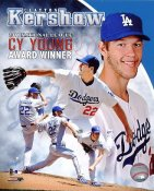 Clayton Kershaw 2011 CY Young Award Winner Los Angeles Dodgers 8X10 Photo