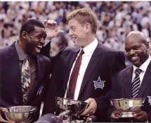 Troy Aikman, Emmitt Smith & Michael Irvin Ring of Honor Induction 9-19-05 Dallas Cowboys LIMITED STOCK 8X10 Photo