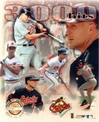 Cal Ripken Jr. 3000 Hits Baltimore Orioles Numbered Limited Edition 8X10 Photo