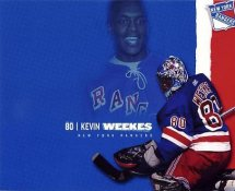 Kevin Weekes LIMITED STOCK Rangers 8x10 Photo