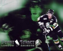 Danny Syvret LIMITED STOCK London Knights 8x10 Photo
