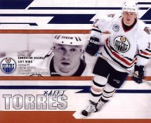 Raffi Torres LIMITED STOCK Oilers 8X10 Photo