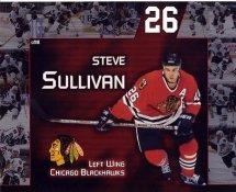 Steve Sullivan LIMITED STOCK Blackhawks 8x10 Photo