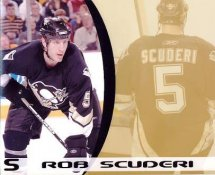 Rob Scuderi LIMITED STOCK Penguins 8x10 Photo