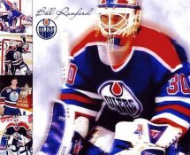 Bill Ranford LIMITED STOCK Oilers 8x10 Photo