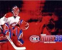 Cristobal Huet LIMITED STOCK Canadiens 8x10 Photo