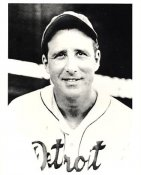 Hank Greenberg Detriot Tigers 8X10 Photo
