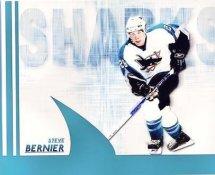 Steve Bernier LIMITED STOCK Sharks 8x10 Photo