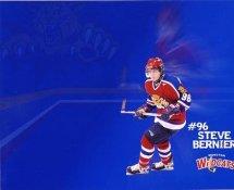 Steve Bernier LIMITED STOCK Moncton Wildcats 8x10 Photo