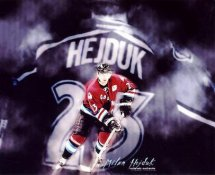 Milan Hejduk LIMITED STOCK Avalanche 8x10 Photo