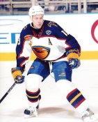 Dany Heatley LIMITED STOCK Thrashers 8x10 Photo