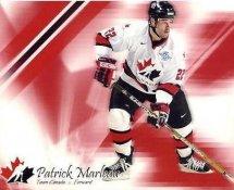 Patrick Marleau LIMITED STOCK Team Canada 8x10 Photo