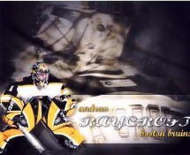 Andrew Raycroft LIMITED STOCK Bruins 8x10 Photo