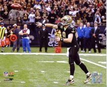 Drew Brees Breaks 5,084 Yards Passing Record NO Saints 8X10 Photo