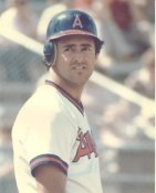 Fred Lynn LIMITED STOCK Anaheim Angels 8X10 Photo