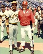 Tony Pena & Pete Rose LIMITED STOCK Pittsburgh Pirates 8x10 Photo