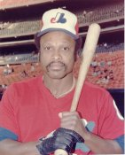 Al Oliver LIMITED STOCK Montreal Expos 8X10 Photo