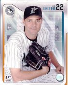 Al Leiter LIMITED STOCK Florida Marlins 8X10 Photo