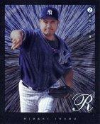 Hideki Irabu LIMITED STOCK New York Yankees Pinnacle Zenith Dufex 8X10 Photo