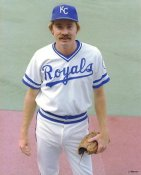 Dan Quisenberry LIMITED STOCK Kansas City Royals 8X10 Photo
