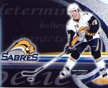 Jason Pominville LIMITED STOCK Buffalo Sabres 8x10 Photo