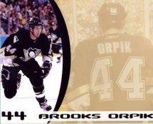 Brooks Orpik LIMITED STOCK Pittsburgh Penguins 8x10 Photo