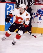 Brandon Prust LIMITED STOCK Flames 8x10 Photo