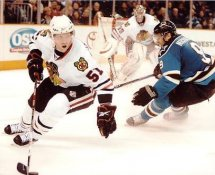 Brian Campbell LIMITED STOCK Chicago Blackhawks 8x10 Photo