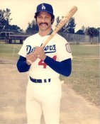 Ken Landreaux LIMITED STOCK LA Dodgers 8x10 Photo