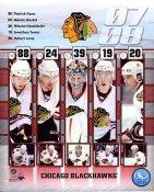Patrick Kane, Martin Havlat, Nikolai Khabibulin, Jonathan Toews & Robert Lang LIMITED STOCK Chicago Blackhawks 8x10 Photo