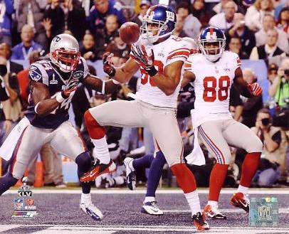 Victor Cruz Super Bowl 46 New York Giants 8X10 Photo