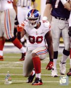 Jason Pierre-Paul Super Bowl 46 New York Giants SATIN 8X10 Photo