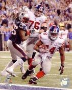 Ahmad Bradshaw Super Bowl 46 Touch Down Run New York Giants 8X10 Photo