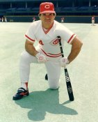 Pete Rose LIMITED STOCK Cincinnati Reds 8X10 Photo