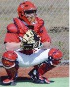 Brian Schneider Washington Nationals 8X10 Photo